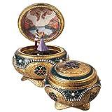 Anastasia - Alexandra & Nicholas Hinged Trinket Box by The San Francisco Music Box Company