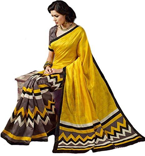 Kanchan Women's Silk Saree (KTPIKU_Multi-Coloured)