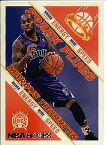 2013 / 2014 Hoops Spark Plugs Basketball Card # 16 Marcus Thornton Sacramento Kings