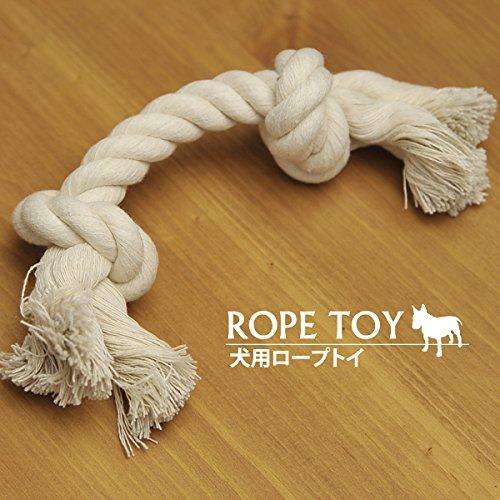 犬のおもちゃ ロープ○わんちゃん やわらかいロープ素材で安心○