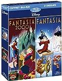 echange, troc Fantasia + Fantasia 2000 - coffret 2 Blu-ray [Blu-ray]