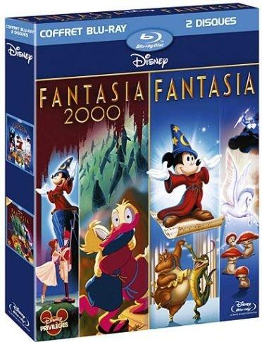 Coffret fantasia : fantasia ; fantasia 2000 [Francia] [Blu-ray]