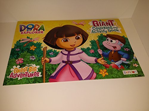 Dora the Explorer Giant Coloring and Activity Book.