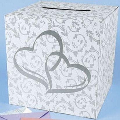 Wedding Card Box – 2 Hearts Design