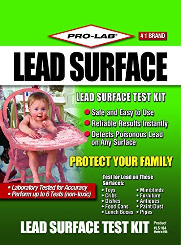 Pro-Lab LS104 Lead Surface Do It Yourself Test Kit (Lead Paint Test Kit compare prices)