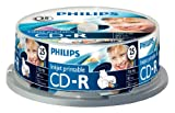 Philips - 25 x CD-R - 700 MB ( 80min ) 52x - ink jet printable surface - storage media