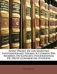 Avant-Projet de Loi Maritime Internat...
