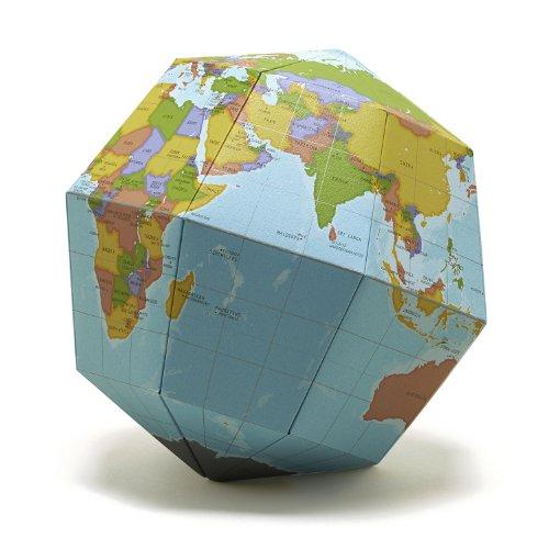 geografia 地球儀 組み立て式 ベーシック  SGBA