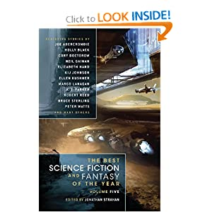 The Best Science Fiction and Fantasy of the Year Volume 5 by Diana Peterfreund