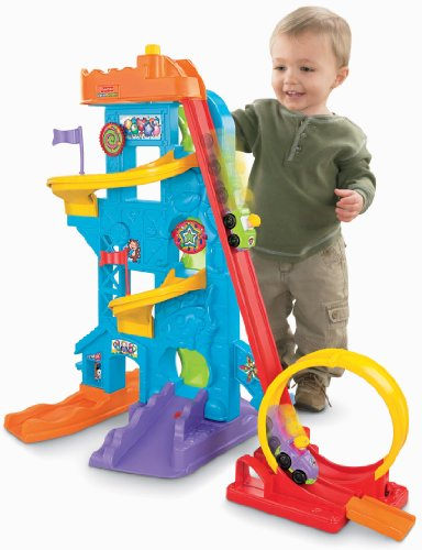 Fisher-Price Little People Loops 'n Swoops Amusement Park [Amazon Exclusive] (Amazon Frustration Free compare prices)