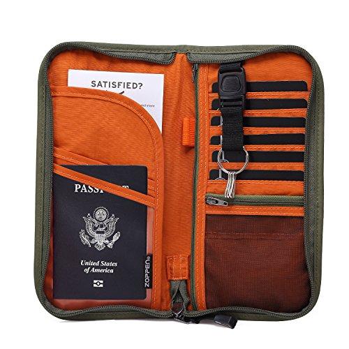 Zoppen-RFID-Travel-Wallet-Ducuments-Organizer-Case-Family-Passports-Holder
