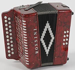 Rossini 2 Row Melodeon