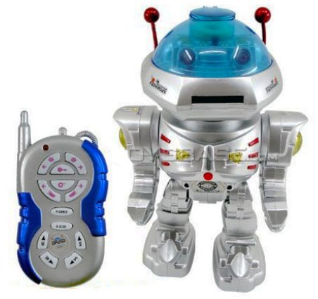 Remote Controlled Dancing Robot
