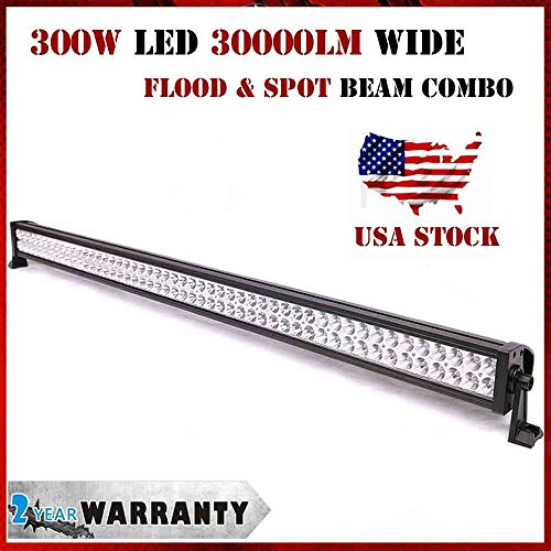 Sanvn 300W Work Light 100 Led Alloy High Light Transmission Dustproof Combo Bar Great