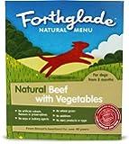 Forthglade Natural Beef and Vegetables Menu 395 g (Pack of 18)