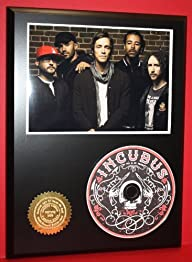 Incubus Limited Edition Picture Disc CD Collectible Music Display ***FREE USA PRIORITY SHIPPING***