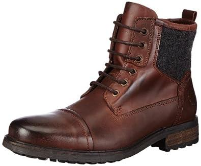 Belmondo 850203/N 850203/N, Herren Combat Boots, Braun (marrone), EU 45