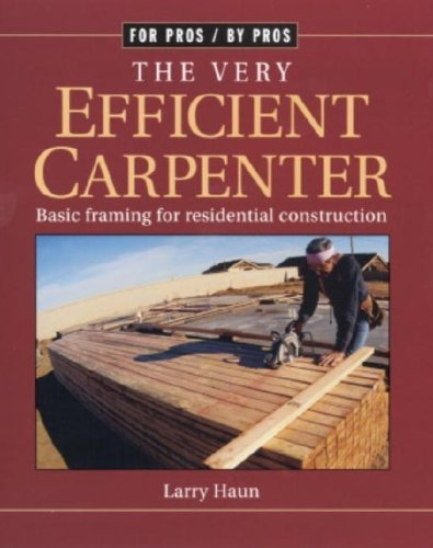 The Very Efficient Carpenter - Taunton Press - RC-T070455 - ISBN: 156158326X - ISBN-13: 9781561583263
