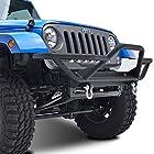 E-Autogrilles 51-0302 07-15 Jeep Wrangler JK Rock Crawler Tubular Front Bumper