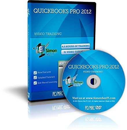 Learn QuickBooks Pro 2012 Training Video Tutorial DVD