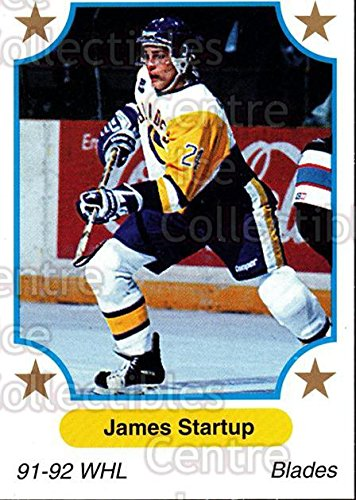 James-Startup-Hockey-Card-1991-92-7th-Inning-Sketch-WHL-106-James-Startup