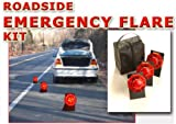 Roadside Emergency Flare - Battery Operated - (3) Emergency LED Lights Plus Carrying Case