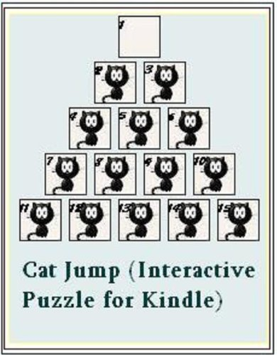 Cat Jump (Interactive Puzzle for Kindle)