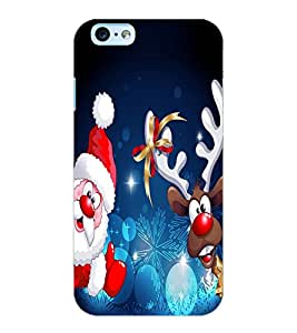 ColourCraft Christmas Image Design Back Case Cover for APPLE IPHONE 6