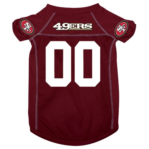 Hunter MFG San Francisco 49ers Dog Jersey, Large