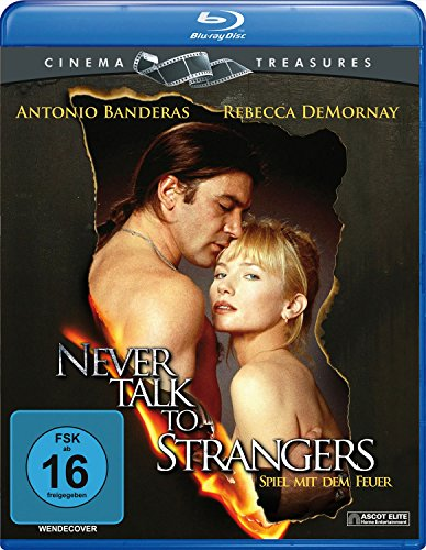 Never Talk To Strangers - Spiel mit dem Feuer (Cinema Treasures) [Blu-ray]
