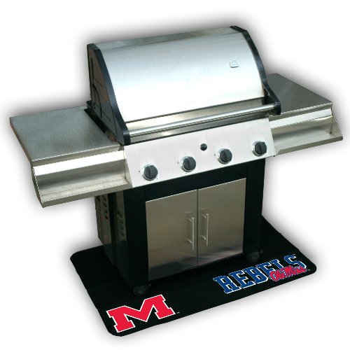 Backyard Basics Ole Miss (Mississippi) Grill Mat (Alabama Grill Accessories compare prices)