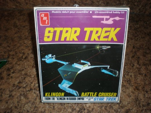 1968 Vintage Star Trek AMT Model Kit of the Klingon Battle Cruiser