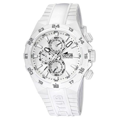 55914e6a5466 Lotus 15800 5 – Reloj analógico de cuarzo para hombre con correa de  plástico