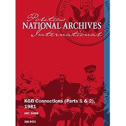 KGB Connections (Parts 1 & 2), 1981