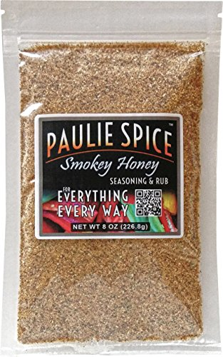 Paulie Spice : Sweet Smokey Honey BBQ Seasoning and Rub For: Steak, Ribs, Meat, Pork, Chicken, Wings, Salmon, Beef, Fish, Seafood, Grill, Barbecue, Smoked, Dry Rubs, Seasonings, Spices, Hickory, 8 oz (Smoked Chicken compare prices)