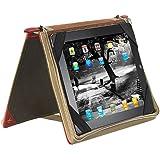Xcase Elegante Schutztasche im Buch-Design f�r iPad & TOUCHLET