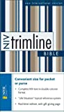 Trimline Bible: New International Version, Black Bonded Leather (0310927102) by Zondervan