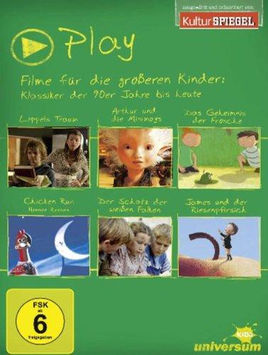 Play Box 3 - Filme für die größeren Kinder: Klassiker der 90er Jahre bis heute [6 DVDs]