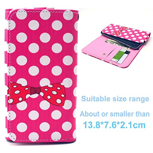 (3#O) Portemonnaie PU-Leder Multipurpose