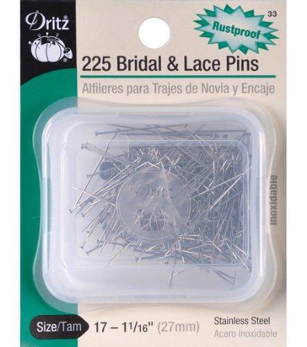 Dritz Ball Point Pins 1 1/16 225/pkg