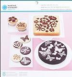 Vintage Girl Cake & Cupcake Stencils 8/Pkg-