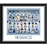 Rangers FC Legends of Ibrox Framed and Mounted Print