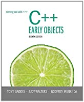 Starting Out with C++: Early Objects, 8th Edition Front Cover