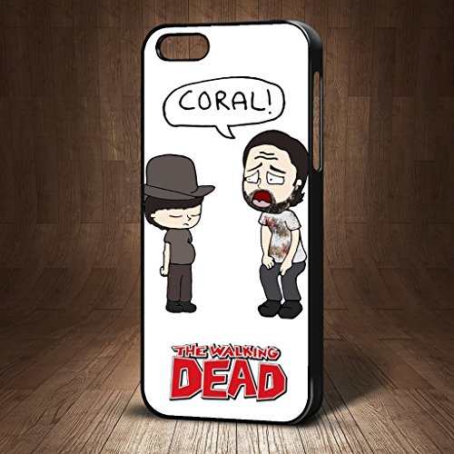 the-walking-dead-zombie-sang-carl-rick-grimes-shout-corail-funny-humour-telephone-coque-pour-iphone-
