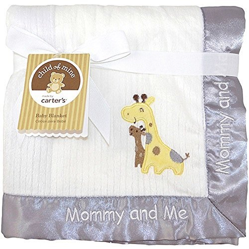 Treetop Friends 2-ply Ribbed Valboa Blanket Child of Mine By Carter's - 1