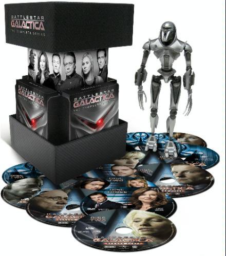 Battlestar Galactica The Complete Series DVD 2009 25 Disc Set Brand