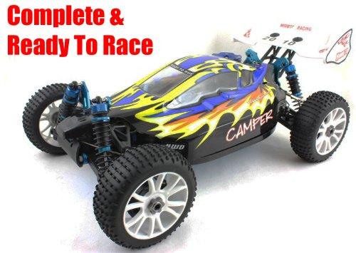 Nitro Petrol Remote Control Car 1:8 Scale 4WD Blackbird Buggy 60kph + RC Radio Control