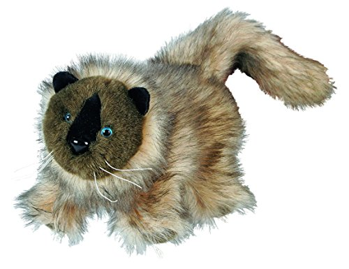 Cat's Hape Hand Glove Puppet Siamese Cat Multi Color