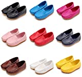 DADAWEN Boy's Girl's Slip-on Loafers Oxford Dress Shoes(Toddler/Little Kid)