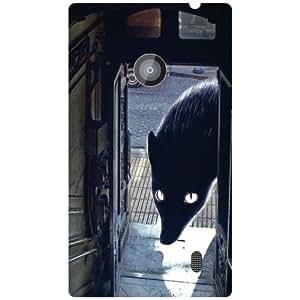 Nokia Lumia 520 Back Cover - Big Eyes Designer Cases